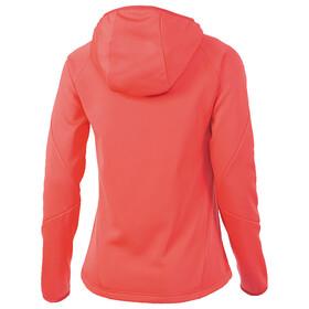 Chaqueta Adidas HT 1sd con capucha rosa para mujer